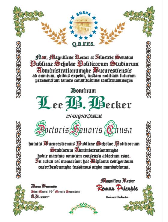 Diploma Lee Becker 560x740