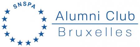 Logo SNSPA Alumni Club Bruxelles RO Final