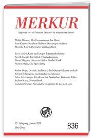 coperta Merkur. Deutsche Zeitschrift autori SNSPA Catalin Partenie