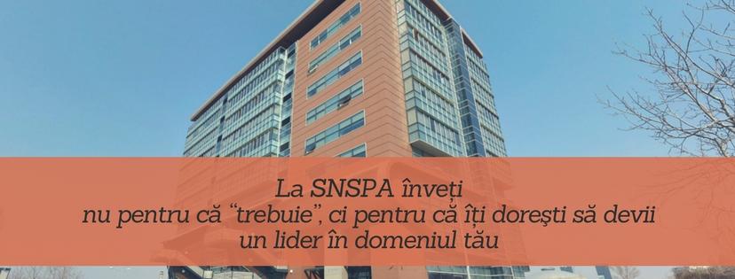 De ce aleg SNSPA - SNSPA